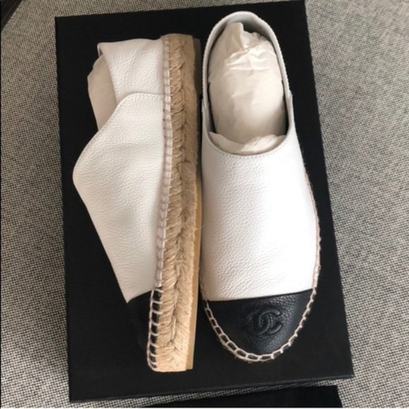 CHANEL Shoes - Limited Edition Chanel Captoe Espadrilles